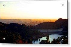 Los Angeles 2 Acrylic Print by Jera Sky