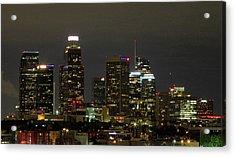 Los Angeles City Lights Acrylic Print
