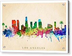 Los Angeles Cityscape Acrylic Print