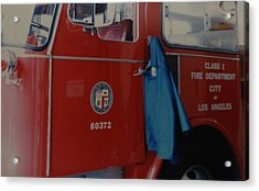 Los Angeles Fire Department Acrylic Print by Rob Hans