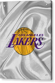 Los Angeles Lakers Acrylic Print by Afterdarkness
