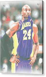Los Angeles Lakers Kobe Bryant 3 Acrylic Print by Joe Hamilton