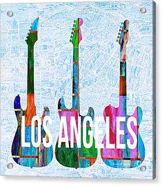 Los Angeles Music Scene Acrylic Print