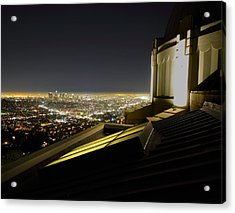Los Angeles Skyline From The Griffith Observatory Acrylic Print