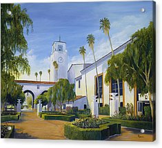 Los Angeles Union Station  Acrylic Print by Eric Smith