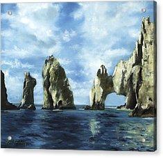 Los Arcos Acrylic Print by Lisa Reinhardt