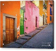 Los Colores De Guanajuato Acrylic Print