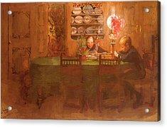 Los Deberes 1898 Acrylic Print