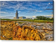 Los Morillos Lighthouse - Los Morillos - Cabo Rojo - Puerto Rico Acrylic Print