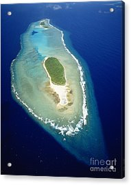 Losiep Atoll Acrylic Print by Mitch Warner - Printscapes