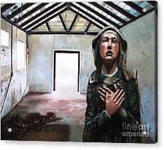 Losing My Religion Acrylic Print by Denny Bond