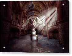 Acrylic Print featuring the digital art Losing My Religion by Nathan Wright