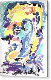 Loss Of Consciousness Acrylic Print