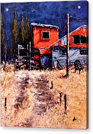Lost And Found Memories.. Acrylic Print