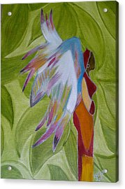Lost Angel Acrylic Print by Elizabeth Ribet