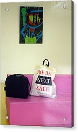 Lost Bags Acrylic Print by Jez C Self