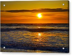 Lost Coast Sunset Acrylic Print