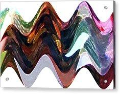 Acrylic Print featuring the digital art Lost Earring by Ellen Barron O'Reilly