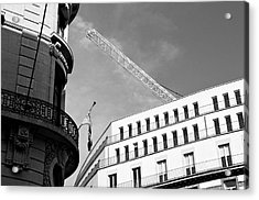 Lost In Brussels Acrylic Print by Mark Chevalier