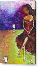 Lost In Grapes Acrylic Print by Ricky Sencion