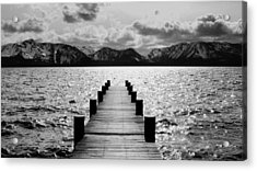 Lost In Lake Tahoe Acrylic Print