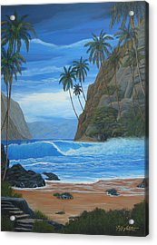 Lost In Paradise Acrylic Print by Jeffrey Oldham