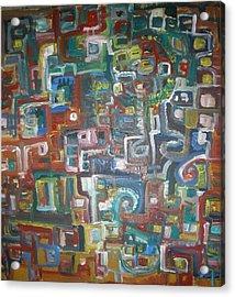 Lost In The Labyrinth Acrylic Print by Philip Arnzen-Jones