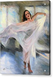 Lost In The Moment Acrylic Print by Anna Rose Bain