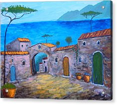 Lost In Time Acrylic Print by Larry Cirigliano