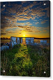 Lost In Time Acrylic Print by Phil Koch
