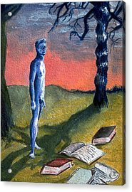 Acrylic Print featuring the painting Lost by Rene Capone