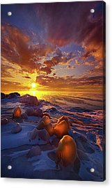 Acrylic Print featuring the photograph Lost Titles, Forgotten Rhymes by Phil Koch