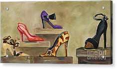 Lots Of Shoes Acrylic Print