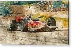 Lotus 49 - 33 Acrylic Print