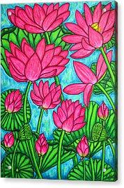 Lotus Bliss Acrylic Print