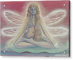 Lotus Faerie Princess Acrylic Print