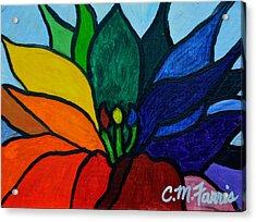 Lotus Flower 1 Acrylic Print