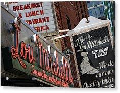 Lou Mitchells Restaurant And Bakery Chicago Acrylic Print