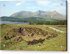 Lough Inagh Valley Acrylic Print by John Quinn