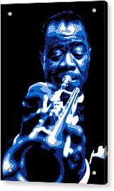 Louis Armstrong Acrylic Print by DB Artist