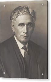 Louis Brandeis 1856-1941, Was Appointed Acrylic Print by Everett