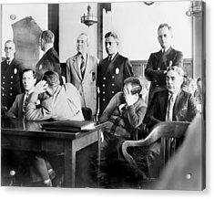 Louis Buchalter At Murder Trial, Louis Acrylic Print