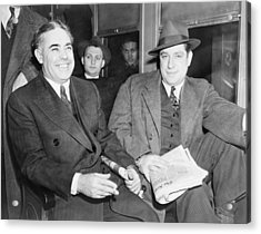 Louis Capone 1896-1944 And Emanuel Acrylic Print by Everett