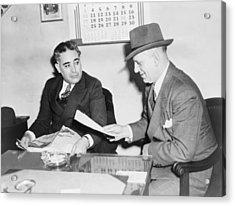 Louis Capone 1896-1944 Acrylic Print by Everett