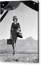Louis Vuitton, The Getaway Acrylic Print