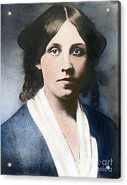 Louisa May Alcott Acrylic Print