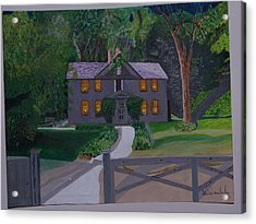 Louisa May Alcott's Home Acrylic Print by William Demboski