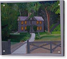 Louisa May Alcott's Home Acrylic Print by William Demboski