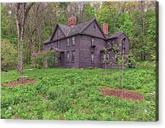 Louisa May Alcotts Orchard House Concord Massachusetts Acrylic Print