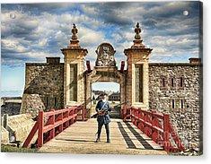 Louisbourg Fortress, Nova Scotia Acrylic Print